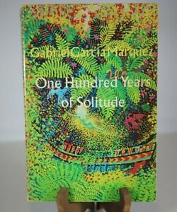 1970 1st Edition One Hundred Years Of Solitude Gabriel Garcia Marquez 2nd print