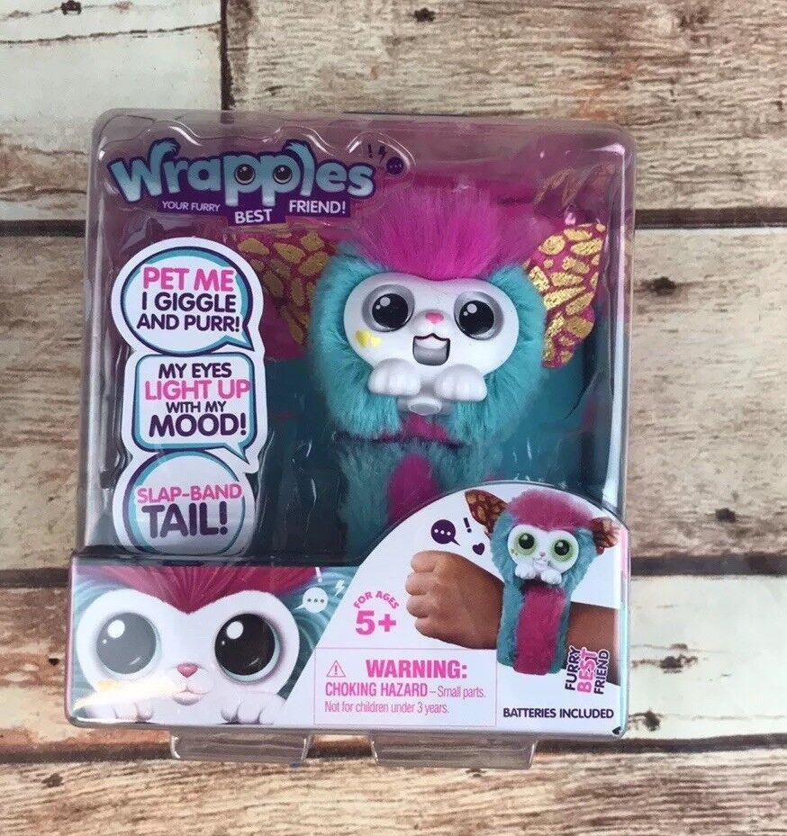 Little Live Wrapples Plush Interactive Toys (Flutta) Slap Band New US Seller