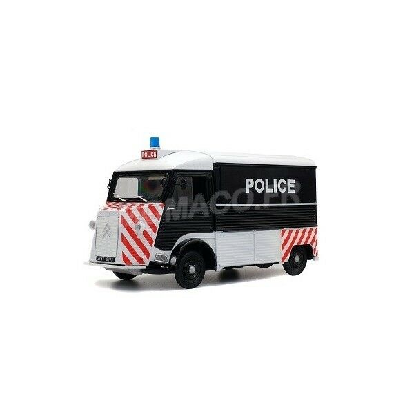 SOLIDO S1850024 - CITROEN TYPE HY 1969 POLICE 1 18
