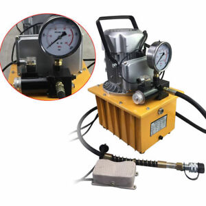 Electric Hydraulic Pump >> Details About 70mpa Electric Hydraulic Pump 110v Power Pack 2 Stage Single Acting 10k Psi New