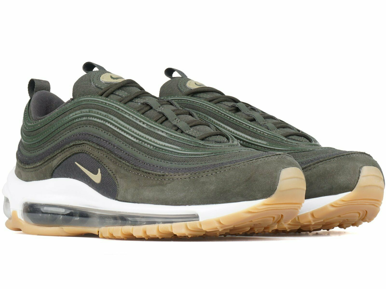WOMEN'S NIKE AIR MAX 97 ULTRA SHOES Size 8 SEQUOIA OLIVE