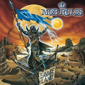 MOB-RULES-Savage-Land-CD-1999-Power-Metal-NEU-OVP