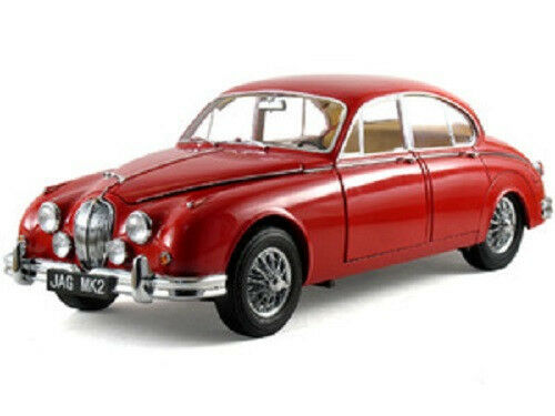 1962 Jaguar Mark 2 rosso 1:18 Model Icons 10001