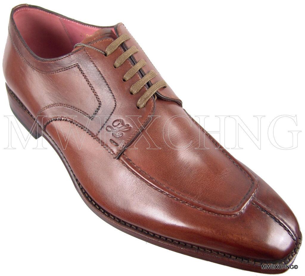 outlet online ZENOBI GOODYEAR WELT MOC MOC MOC TOE OXFORDS ITALIAN DESIGNER Uomo scarpe NEW EU 41.5  stanno facendo attività di sconto