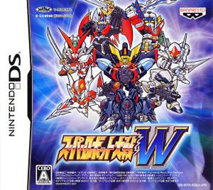 used nintendo ds super robot wars taisen w import japan