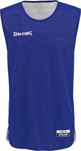 Spalding Basketball Essential Reversible Shirt Kinder Trikot blau weiß