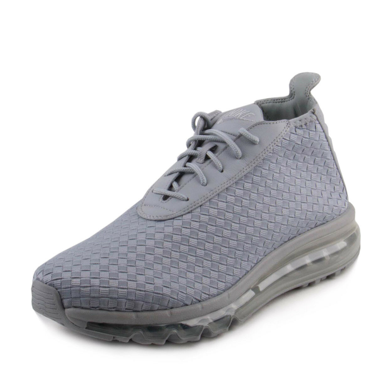 Nike Mens Air Max Woven Boot Grey/White 921854-001
