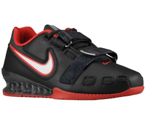 Nike Romaleos 2 Power Lifting- Hombre Halterofilia Zapatos,76927016 ,Negro Rojo