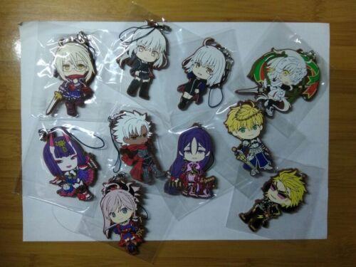 Fate Grand Order Siegfried Gilgamesh Heavens Keychain Anime Rubber Strap Charm Z