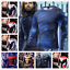 Marvel-Avengers-4-Superhero-Cosplay-Compression-Tights-Quick-Drying-T-shirt-Tops thumbnail 1