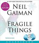 Fragile Things by Neil Gaiman (CD-Audio)