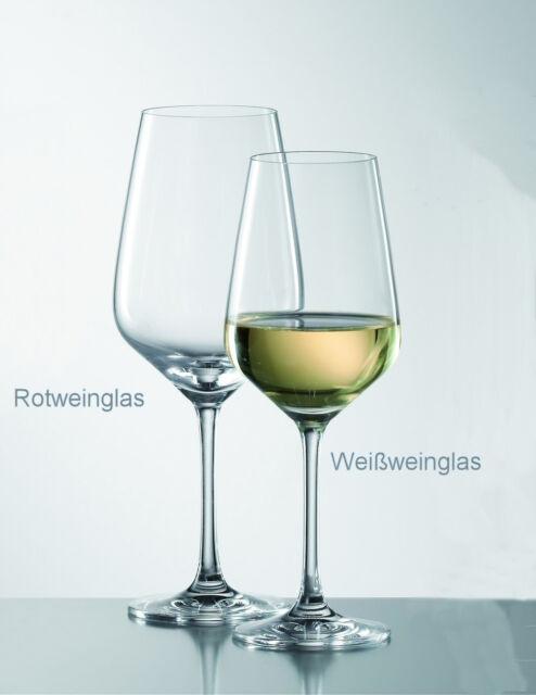 6 Weißweingläser SCHOTT ZWIESEL TASTE 8741/0 Weißwein Gläser, Kristall Glas