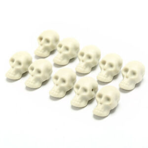 10X-mini-human-skull-head-decor-skeleton-coffee-bars-home-ornament-teach-toy-TB