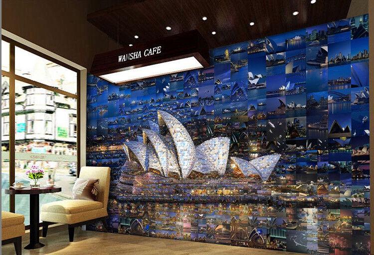 3D Sydney Opernhaus 553 Tapete Tapeten Mauer Foto Familie Tapete Wandgemälde DE