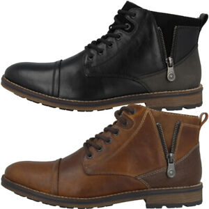 new concept b4497 4d138 Details zu Rieker Schuhe Men Herren Antistress Stiefel Stiefeletten  Freizeit Boots F5512