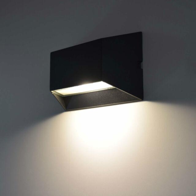 Led Außenleuchte Wandlampe Wandleuchte Leuchte Außenlampe Lampe 1307 Black