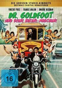 DR. GOLDFOOT e i suoi Bikini-macchina [DVD/Nuovo/Scatola Originale] Vincent Price, Frankie Aval