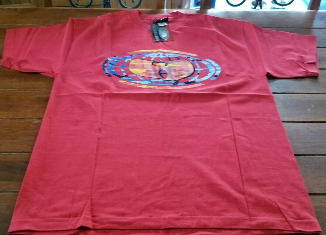 14de9f2c NWT WEAR SIZE XL CAMO TSHIRT NEW YORK RED MULTICOLOR RARE ORIGINAL METHOD  MAN WU nnaeak2910-T-Shirts