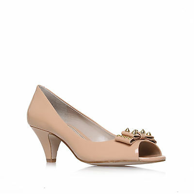 BETHANY KG KURT GEIGER PATENT LEATHER NUDE WOMENS LADIES SHOE
