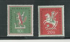 WEST GERMANY # B360-361 MNH FAIRY TALES, THE HUNTER, THE FOX