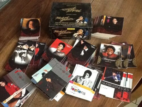 Lot 190 Cartes Red Michael Jackson