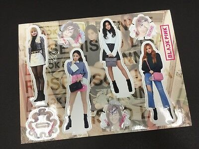 Kpop Black Pink High Quality Official Photo Standing Paper Figure