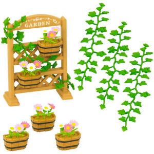 Sylvanian-Families-Calico-Critters-Garden-Decoration-Set