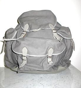 Grey Backpack Sammlerstück Grau Jahre Ertl 50er Burg Toll Baumwolle Rucksack wxzRqU