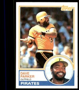 1983 Topps #205 Dave Parker Pittsburgh Pirates
