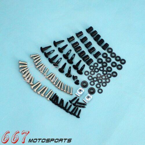Complete Fairing Bolt Kit body screws for Honda CBR 954 RR 2002-2003 Stainless