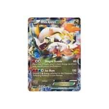 Pokemon 101/113 1x Holo White Kyurem EX x1 LP/LP+ Legendary Treasures x 1