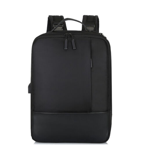 Nylon Premium Anti-theft Laptop Backpack with USB Port for Business Traveling