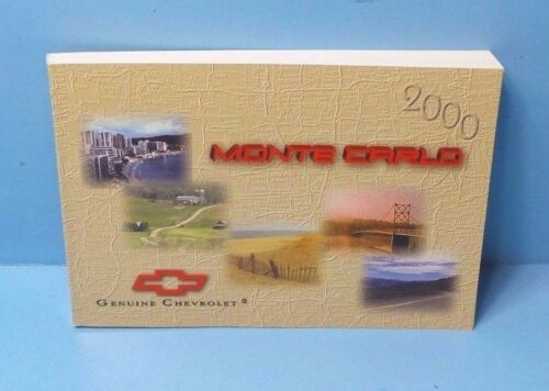 00 2000 Chevrolet Monte Carlo owners manual Vehicle Parts ...