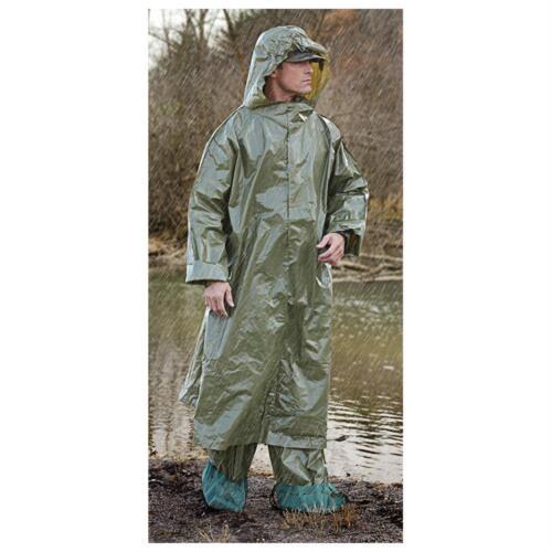 Czech Military Surplus Rain Ponchos Green 2pc Set