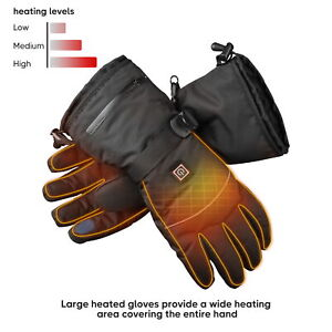 Electric Heated Gloves Thermal Hand Touchscreen Warmer Winter Outdoor Women Men