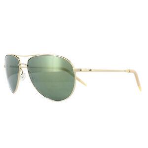 Oliver-Peoples-Occhiali-da-Sole-Benedetto-1002-5035G0-Oro-Verde-Specchio-59mm