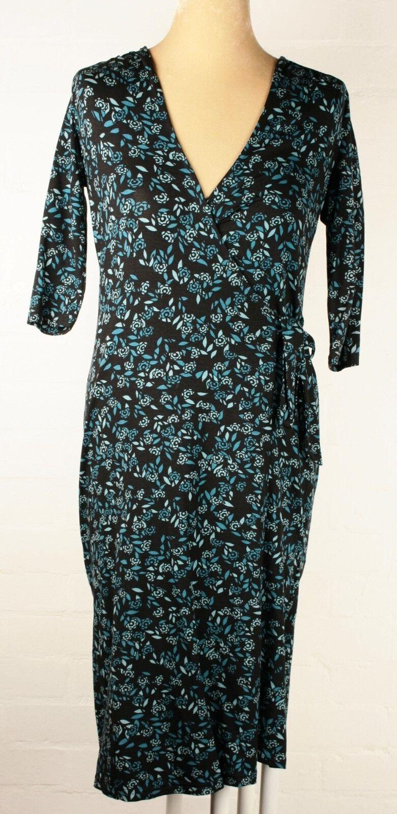 Laura Ashley NWOT Patterned Stretch Stretch Stretch Wrap Dress Sz 12 759cc5