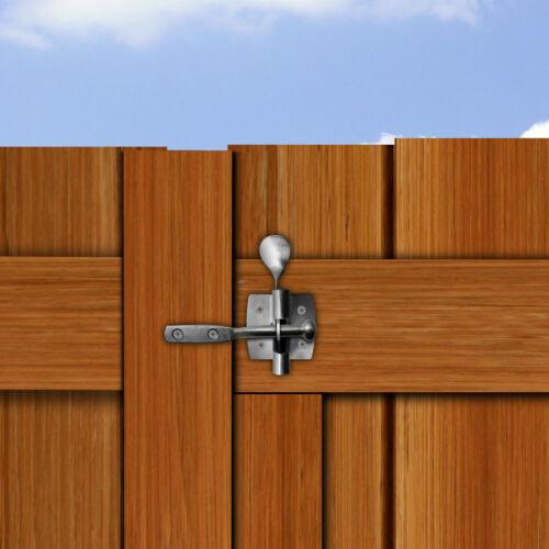 CANCELLO Automatico in Acciaio Inox Catch /& Striker con perni di fissaggio-Timber cancello di sicurezza