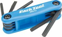Park Tool Aws-9.2 Fold-up Hex Wrench Set - 4, 5 & 6mm Hex, Screwdriver & T25
