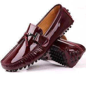 Fulinken-Burgundy-patent-Leather-slip-on-Loafer-driving-shoes-men-moccasin