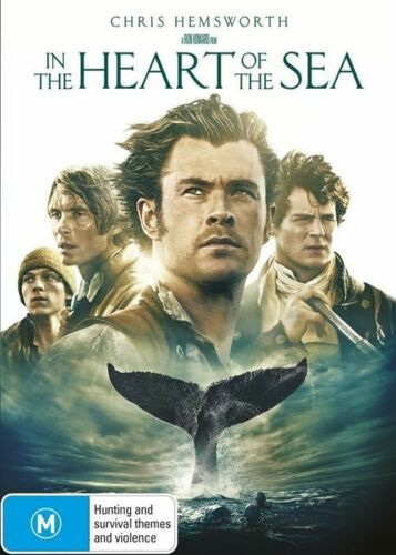 1 of 1 - In The Heart Of The Sea (Dvd) Chris Hemsworth Action Adventure Biography