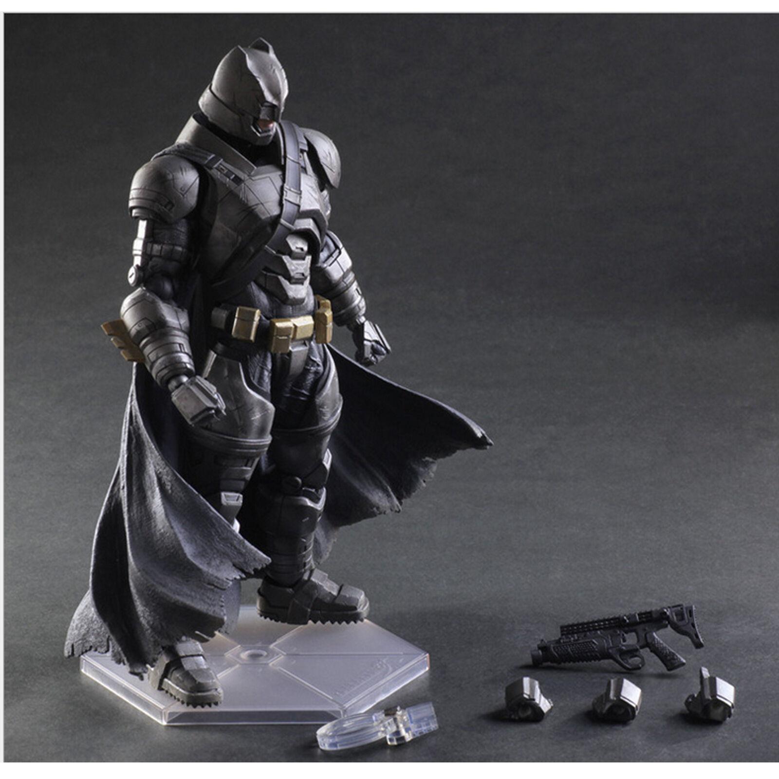 Batman und superman, batman action - figur - gepanzert.
