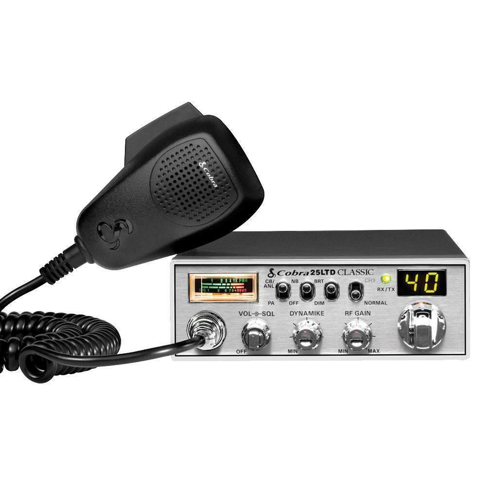 Cobra 25 LTD Classic Professional Midsize CB Radio . Available Now for 99.95
