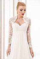 Wedding Top Bridal Lace Bolero/shrug/jacket Long Sleeve S M L Xl