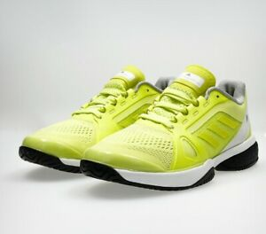 best sneakers f23ea 4ef95 Image is loading NEW-Adidas-Stella-McCartney-Barricade-Boost-Tennis-Shoes-