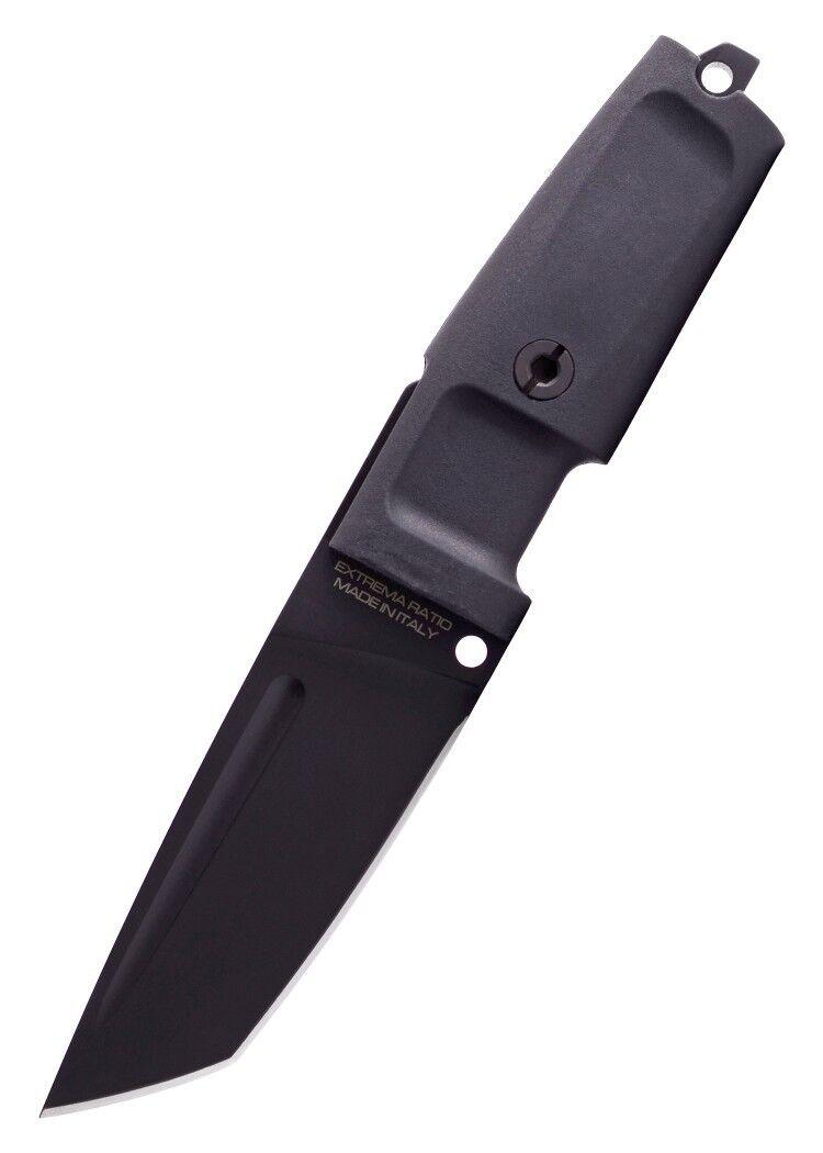 Extrema Ratio Feststehendes Messer T4000 T4000 T4000 C Schwarz 20,8cm Outdoormesser Tanto 52b573