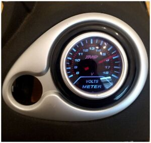 NEW-Renault-Clio-MK3-Gauge-Holder-Air-Vent-Adapter-Gloss-Black-ABS
