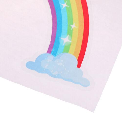 Rainbow Mural Chambre Décoration Autocollants Enfants Chambre Autocollant Mural Noël Decor /_ A