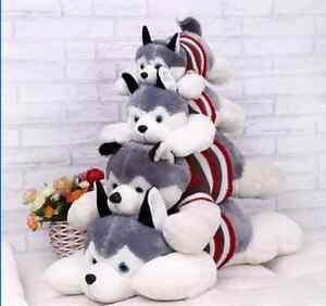 Stuffed-Animal-Plush-Husky-Dog-Puppy-Toy-Doll-Birthday-Gift-Children-gift