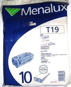 Menalux-T19-10-Sacs-pour-aspirateur-BSK-CHROMEX-INFESIT-ROTARY-SHG-ZANKER